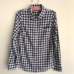 J. Crew ❤️ Perfect Shirt ❤️ Size Small